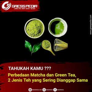 Perbedaan Matcha dan Green Tea, 2 Jenis Teh yang Sering Dianggap Sama