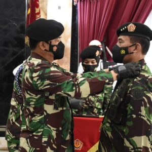 Panglima TNI Terima Penyerahan Jabatan Danjen Akademi TNI