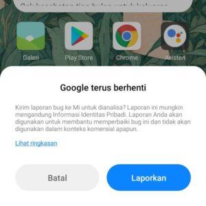 """Viral """"Google Keep Stoping"""" di Android, Gini Cara Mengatasinya"""