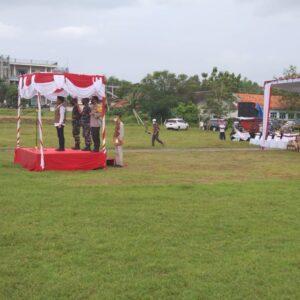 Bupati Bangkalan Pimpin Apel Gelar Pasukan Penanganan Covid-19 di Kabupaten Bangkalan