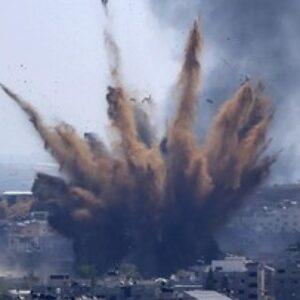 Jet Tempur Israel Serang Gaza Lagi