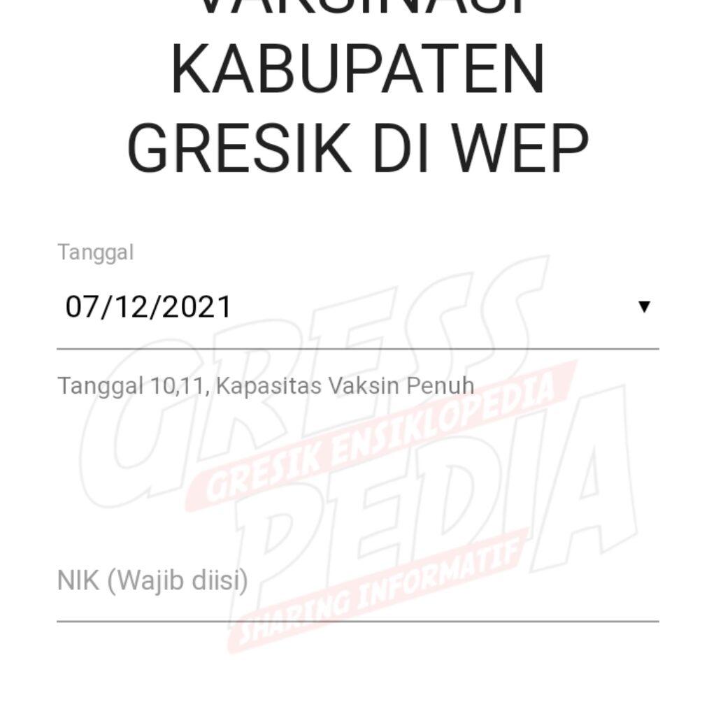 Jadwal Dan Cara Daftar Vaksinasi Kabupaten Gresik