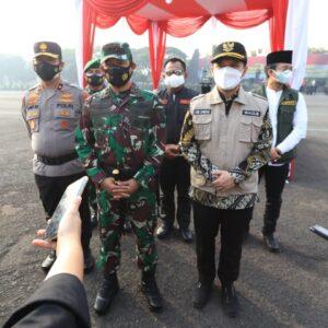 Wagub Emil Apresiasi Gerak Cepat TNI Polri Gelar Apel Pasukan PPKM Darurat