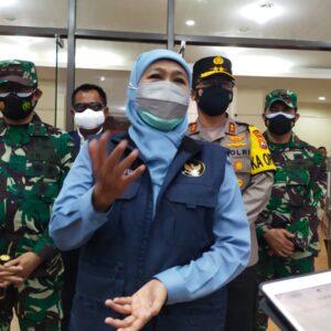 Cek Kesiapan RS Darurat Indoor, Forkopimda Jatim Kunjungi GBT Surabaya
