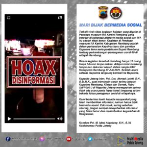 Polda Jateng Dan Pemkab Rembang Angkat Bicara, Terkait Video Viral Tersebut