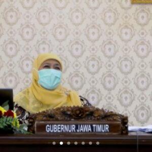 Kasus Harian di Jatim Capai Rekor Tertinggi, Gubernur Khofifah : Saatnya Tarik Rem Dengan PPKM Darurat