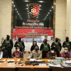 53 Terduga Teroris Ditangkap di 11 Provinsi, Polri Paparkan Sumber Pendanaan Kelompok JI