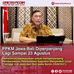PPKM Jawa-Bali Diperpanjang Lagi Sampai 23 Agustus