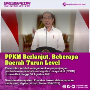 Breaking News: PPKM Berlanjut, Beberapa Daerah Turun Level