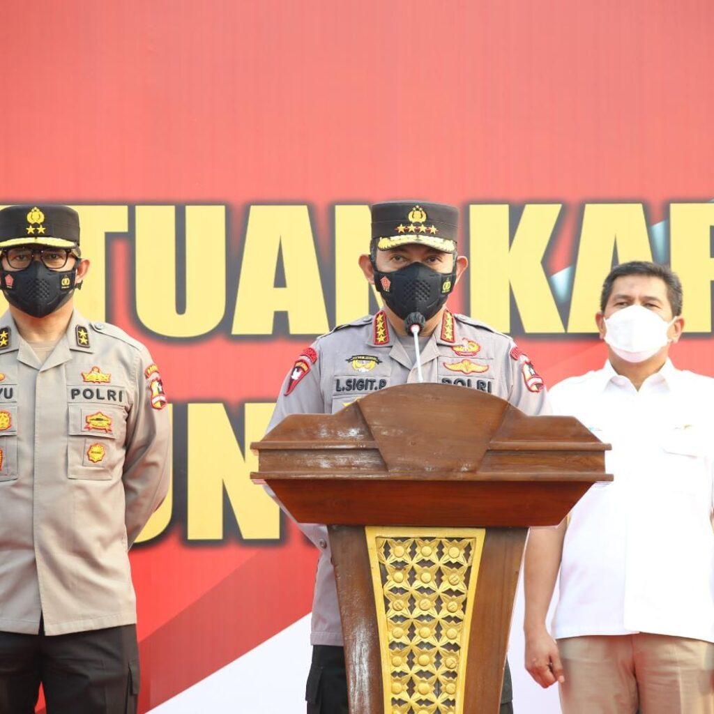 Serahkan 10 Iso Tank untuk Indonesia, Kapolri: Antisipasi Ketersediaan Oksigen
