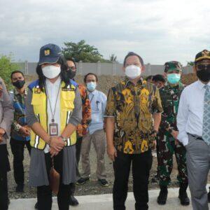 Kunker di Kabupaten Jayapura, Menkopolhukam RI Bersama Mendagri Cek Kesiapan Penyelenggaraan PON XX Papua