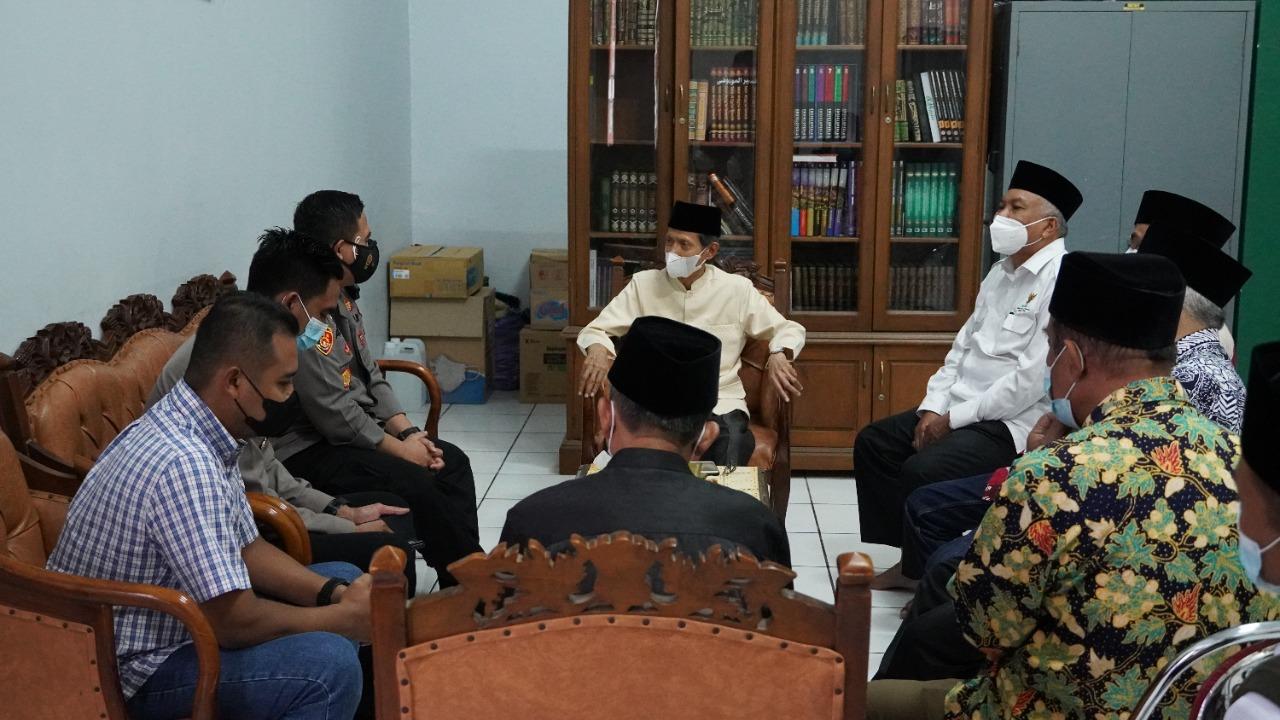 Kapolres Gresik Silaturahmi ke kantor MUI Gresik