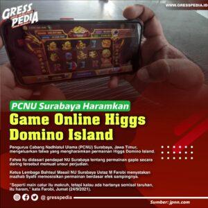 PCNU Surabaya Haramkan Game Online Higgs Domino Island, Ini Dasarnya
