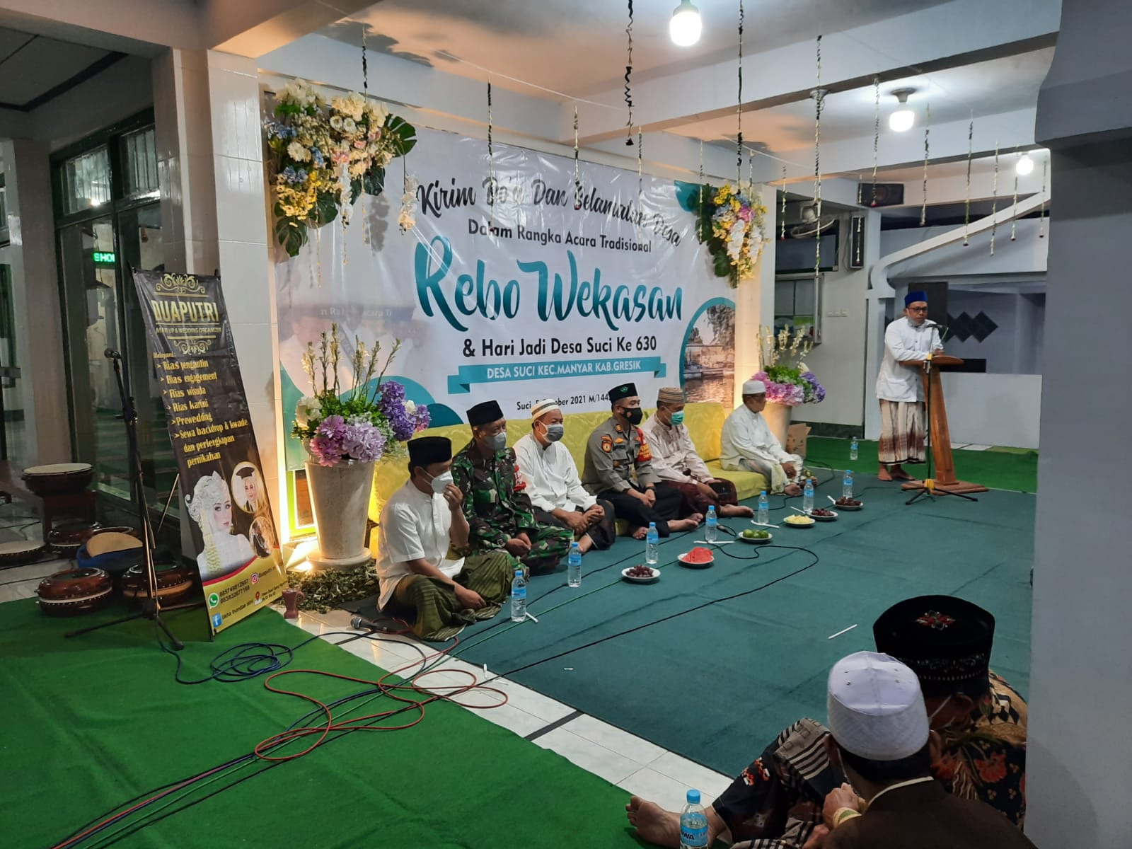 TNI POLRI Hadir Dalam Acara Tradisi Rebo Wekasan di Gresik