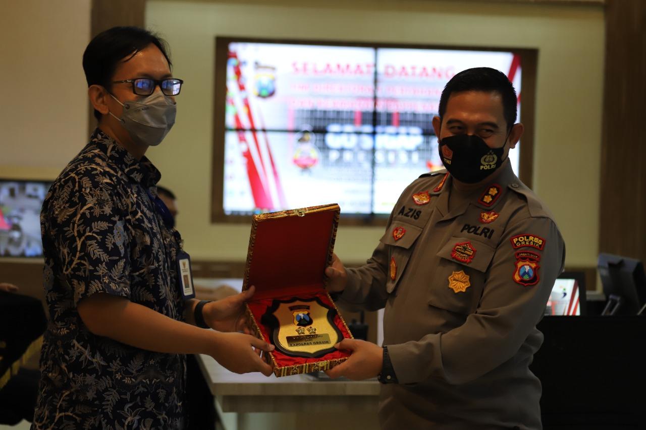 Direktorat Pertahanan dan Keamanan Bappenas Apresiasi GoSigap Polres Gresik