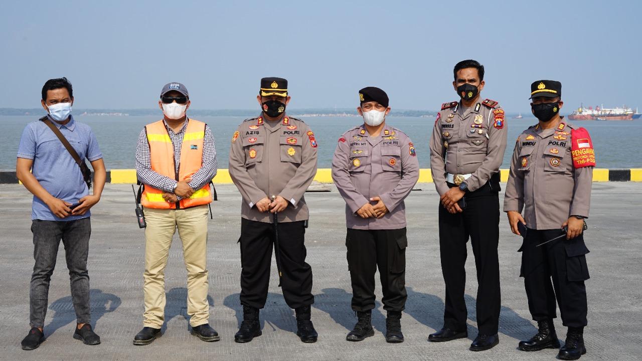 Kunjungan Kerja Kapolres Gresik ke Kawasan PT JIIPE