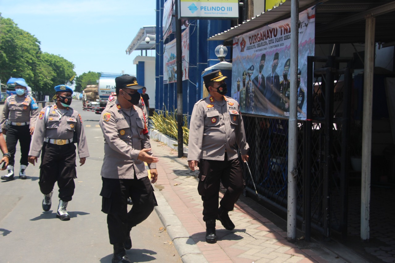 Memastikan Kamtibmas Di Wilayah, Kapolres Gresik Kunker Ke Rayon Tengah