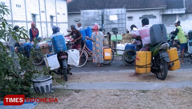Kemarau Panjang di Gresik, Warga Mulai Kesulitan Air Bersih