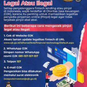 4 Cara Cek Pinjol Legal Atau Ilegal
